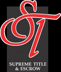 Supreme Title Logo